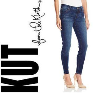 Kut From The Kloth Toothpick Skinny Jeans Size 16